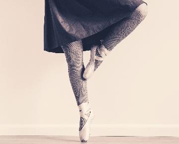 Ballet Ballerina Block Tanzschuhe