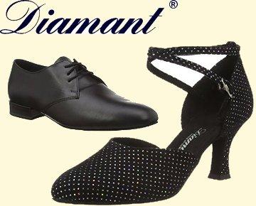 Diamant Damen und Herren Tanzschuhe