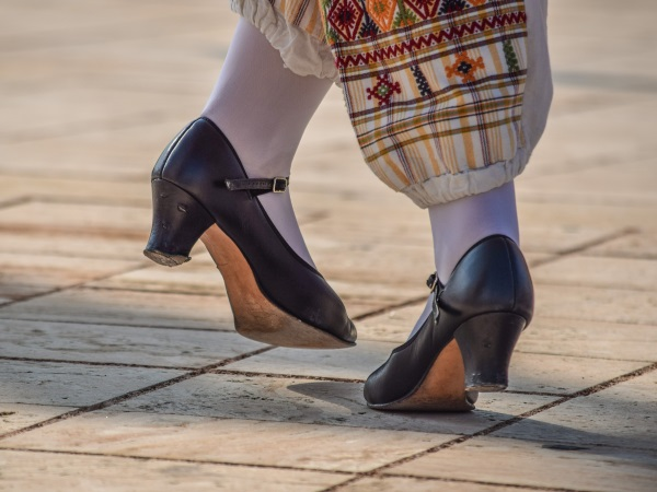 Steppschuhe Traditionell